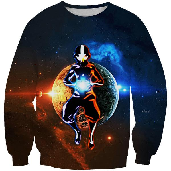 Avatar State Aang Sweatshirt - Avatar the Last Airbender Clothes - Hoodie Now