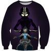 Avatar the Last Airbender Sweatshirt - Aang and Korra Avatar State Sweaters