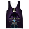 Avatar the Last Airbender Tank Top - Aang and Korra Avatar State Gym Shirts