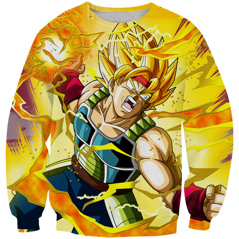 Dragon Ball Sweaters - Super Saiyan Bardock Sweatshirt - Hoodie Now