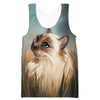 Beautiful Cat Tank Top - Animal Clothing - Hoodie Now