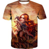 Beautiful Dragon Lady T-Shirt - Fantasy Clothes