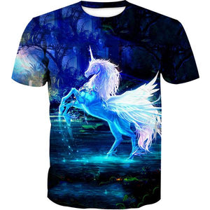 Beautiful Unicorn T-Shirt - Fantasy Clothing