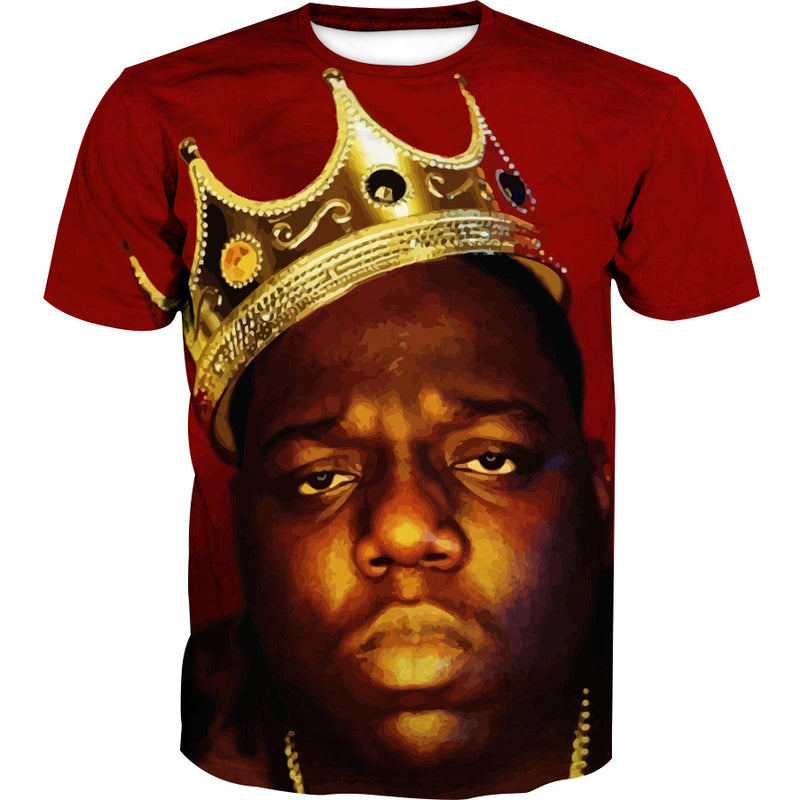 King Biggie Smalls T-Shirt - Notorious Big Clothes