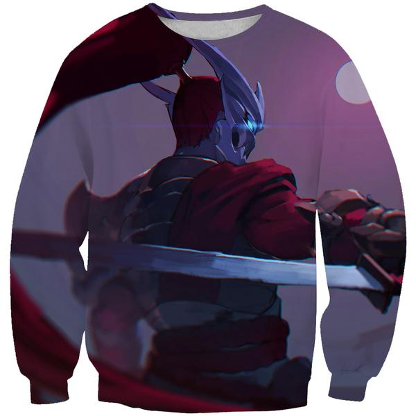 Blood Moon Yasuo Skin Sweatshirt - Yasuo League of Legends Clothes - Hoodie Now