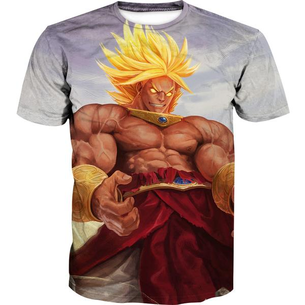 Broly T-Shirt - Dragon Ball Super Broly Clothes