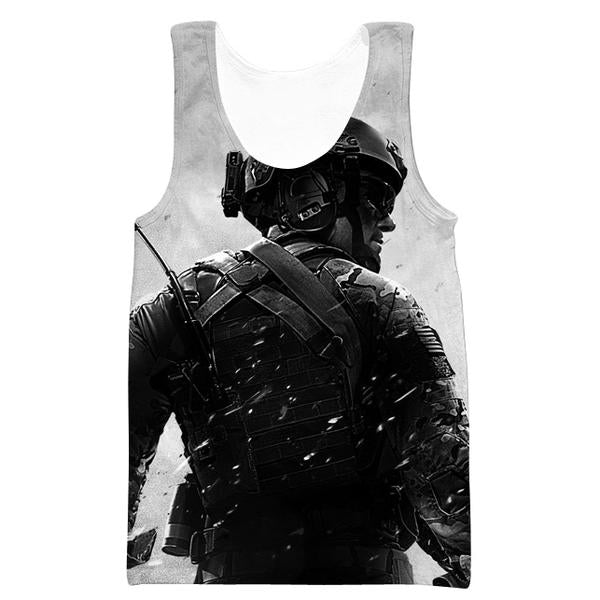 Call of Duty Tank Top - Black Ops Blackout Clothes
