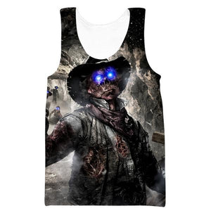 Call of Duty Zombies Tank Top - Black Ops Zombie Clothes
