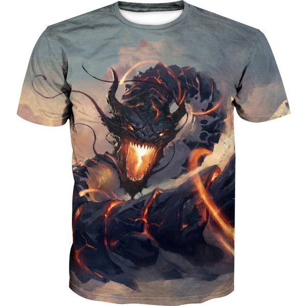 Chinese Dragon T-Shirt - Epic Fantasy Dragon Shirts
