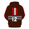 Cleveland Browns 3D Hoodie Pullover - NFL Football Hoodies