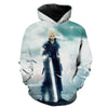 Final Fantasy Cloud Hoodie - Final Fantasy Clothing - Gaming Clothes