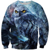 Creepy Owl Sweatshirt - Epic Owl Clothing