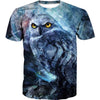 Creepy Owl T-Shirt - Epic Owl Clothing
