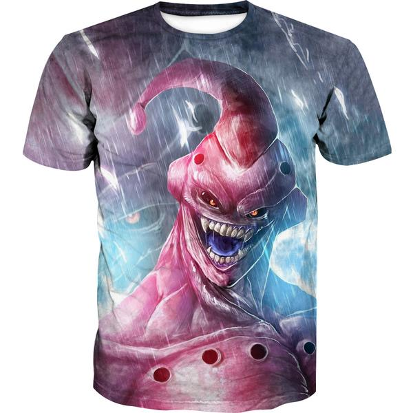 Creepy Super Buu T-Shirt - Dragon Ball Z Apparel - Hoodie Now