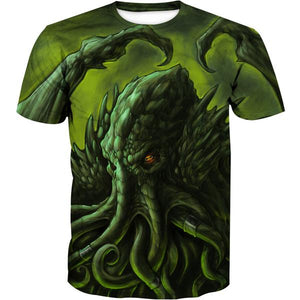 Cthulhu T-Shirt - Nerd Gaming Clothing - Hoodie Now