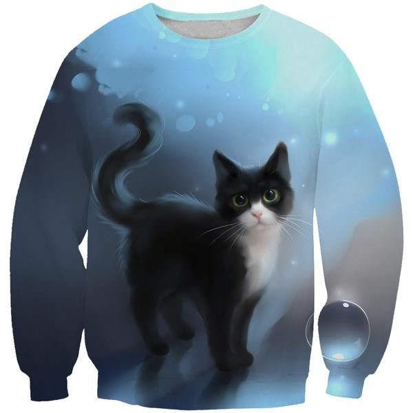 Cute Cat Sweatshirt - Cat Clothing - Hoodie Now