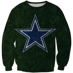 Dallas Cowboys Sweatshirt - Football Cowboys Field Clothes