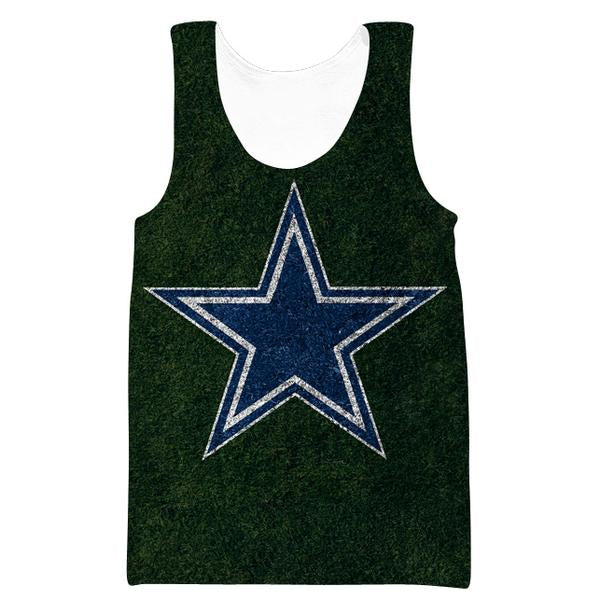 Dallas Cowboys Tank Top - Football Cowboys Field Clothes - Hoodie Now