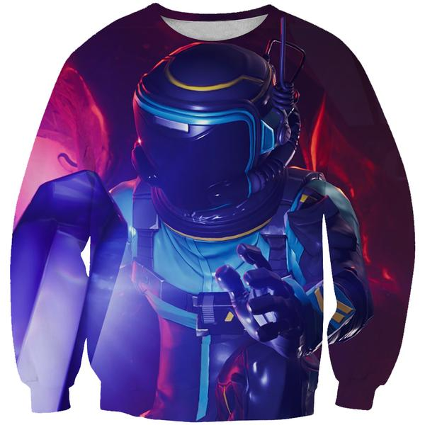 Dark Voyager Fortnite Skin Sweatshirt - Fortnite Clothing