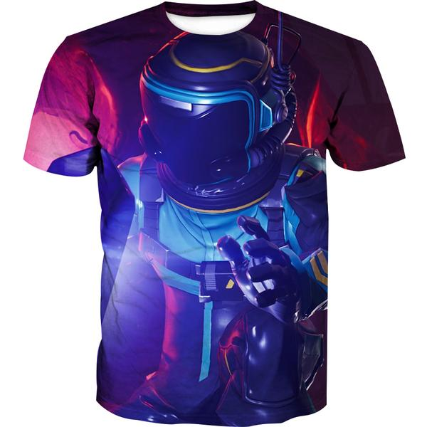 Dark Voyager Fortnite Skin T-Shirt - Fortnite Clothing