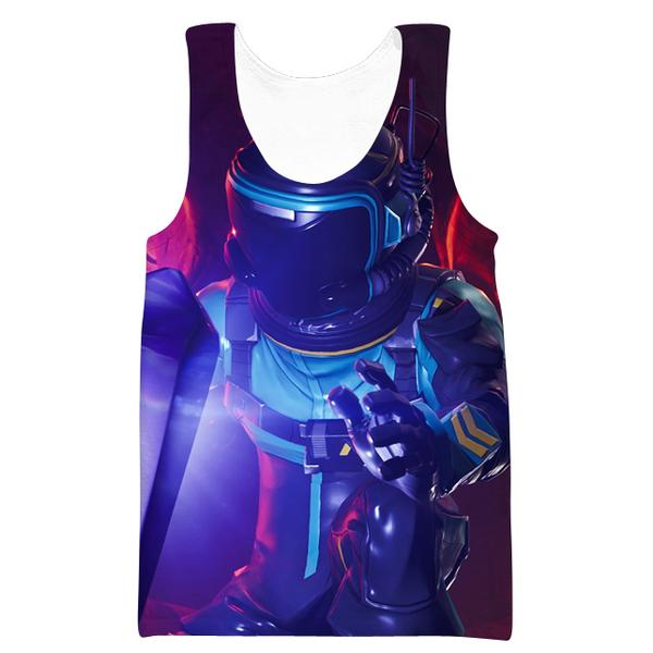 Dark Voyager Fortnite Skin Tank Top - Fortnite Clothing
