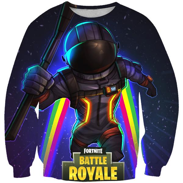 Dark Voyager Skin Sweatshirt - Fortnite Clothing and Sweaters