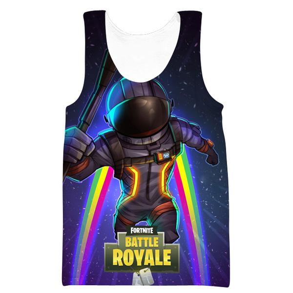 Dark Voyager Skin Tank Top - Fortnite Clothing and Gym Shirts