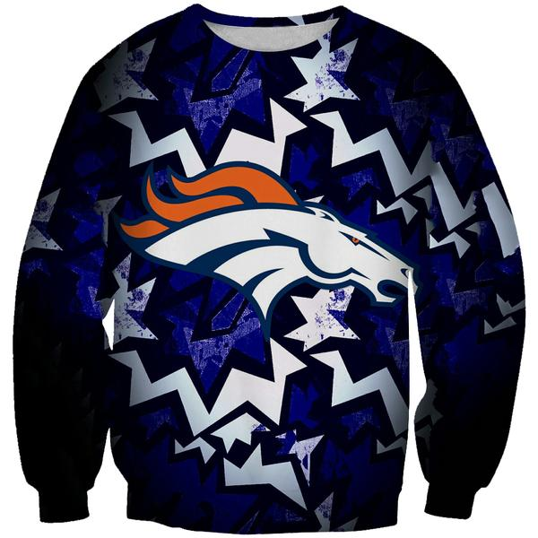 Denver Broncos Sweatshirt - Football Broncos Streetwear Clothes - Hoodie Now