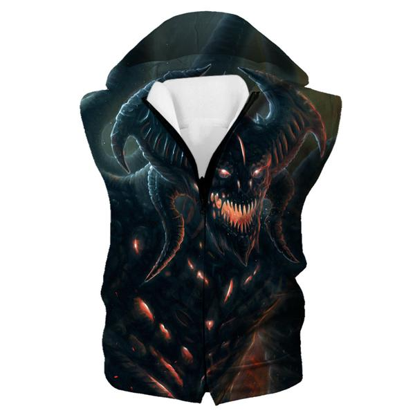 Diablo 3 Hooded Tank - Diablo Clothing and Hoodies - Hoodie Now