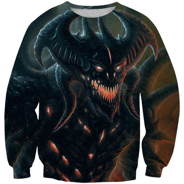 Diablo 3 Sweatshirt - Diablo Clothing and Gym Shirts - Hoodie Now