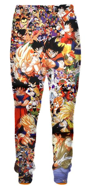 Dragon Ball All Characters Pants - DBZ Clothing and Pants