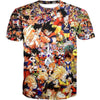 Dragon Ball All Characters T-Shirt - DBZ Clothing and Shirts - Hoodie Now