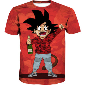 Dragon Ball Bape Shirt