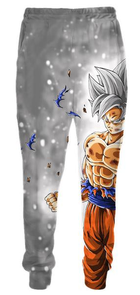 Dragon Ball Pants - Ultra Instinct Goku Sweatpants Clothing