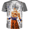 Dragon Ball Shirts - Ultra Instinct Goku T-Shirt Clothing