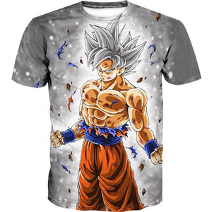 Dragon Ball Shirts - Ultra Instinct Goku T-Shirt Clothing - Hoodie Now