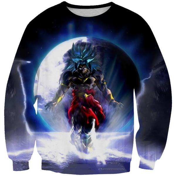 Dragon Ball Super Broly Movie Sweatshirt - Broly Movie Clothes