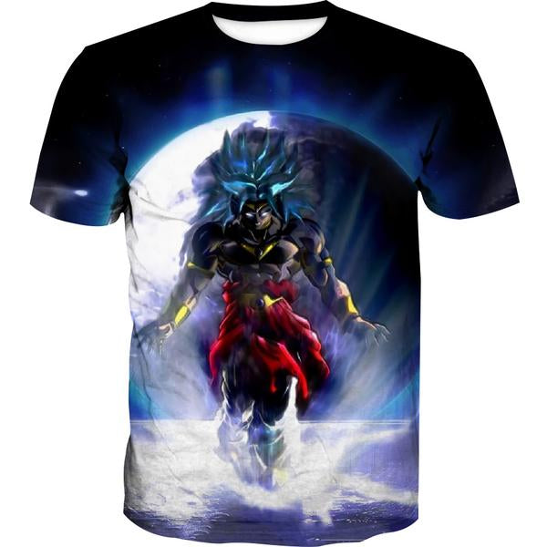 Dragon Ball Super Broly Movie T-Shirt - Broly Movie Clothes - Hoodie Now
