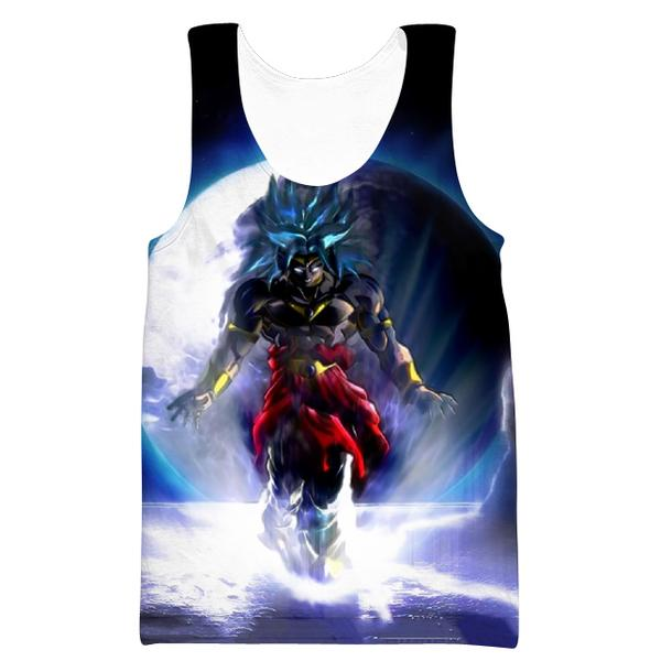 Dragon Ball Super Broly Movie Tank Top - Broly Movie Clothes