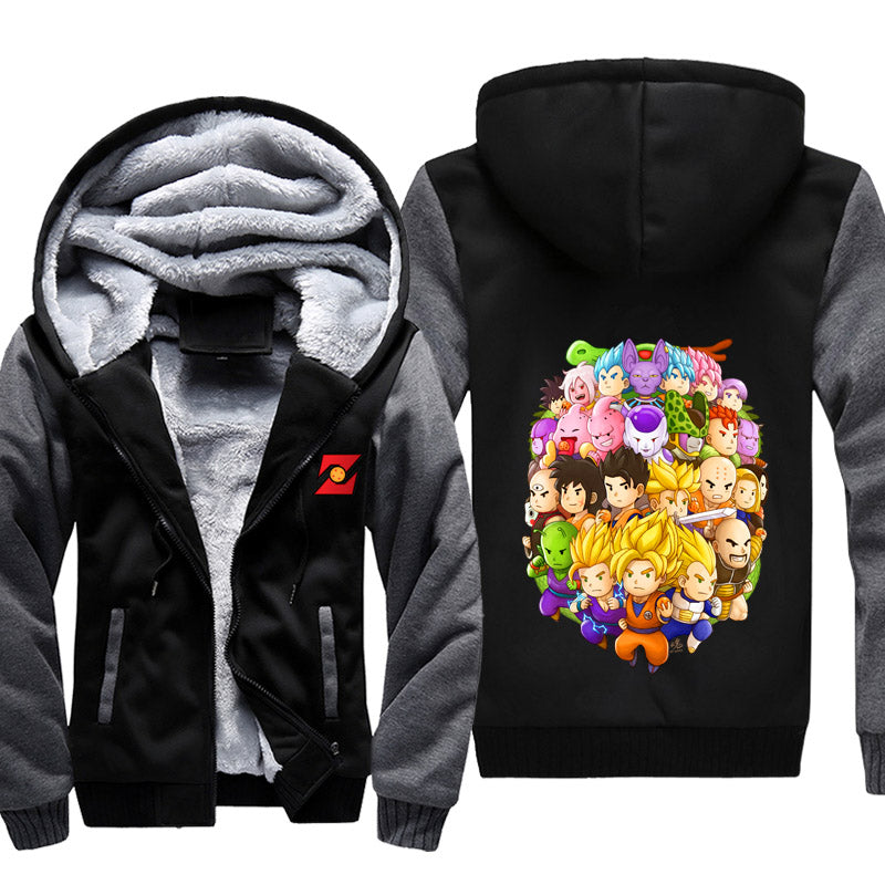Dragon Ball Z Fleece Jacket