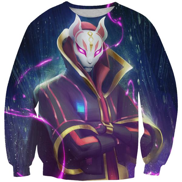 Drift Fortnite Skin Sweatshirt - Fortnite Clothing