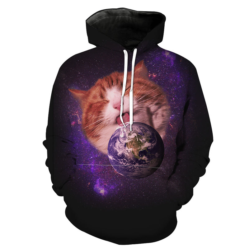 Galaxy Earth Cat Clothes