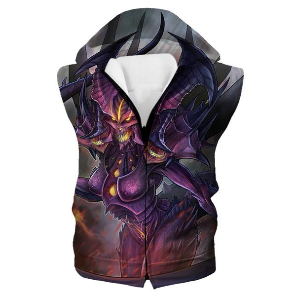 Epic Diablo Hooded Tank - Diablo 3 Clothes and Hoodies
