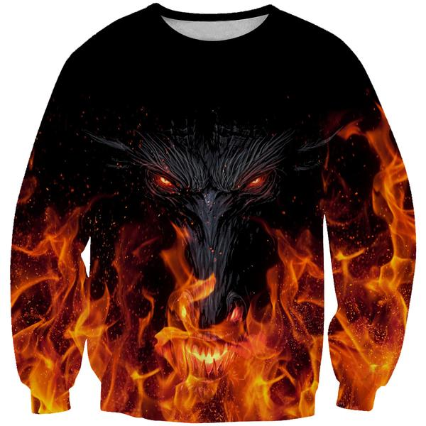 Epic Dragon Sweatshirt - Fantasy Themed Clothing - Hoodie Now
