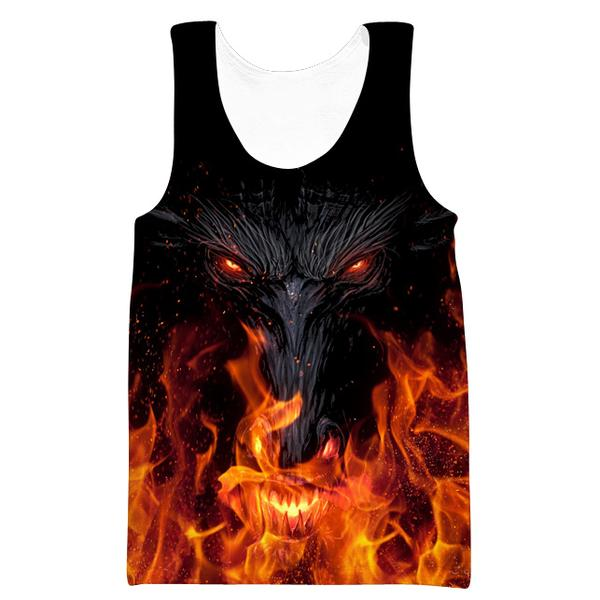 Epic Dragon Tank Top - Fantasy Themed Clothing - Hoodie Now