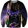 Epic Gauntlet Thanos Sweatshirt - Villain Themed Clothing