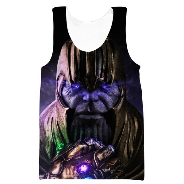 Epic Gauntlet Thanos Tank Top - Villain Themed Clothing - Hoodie Now