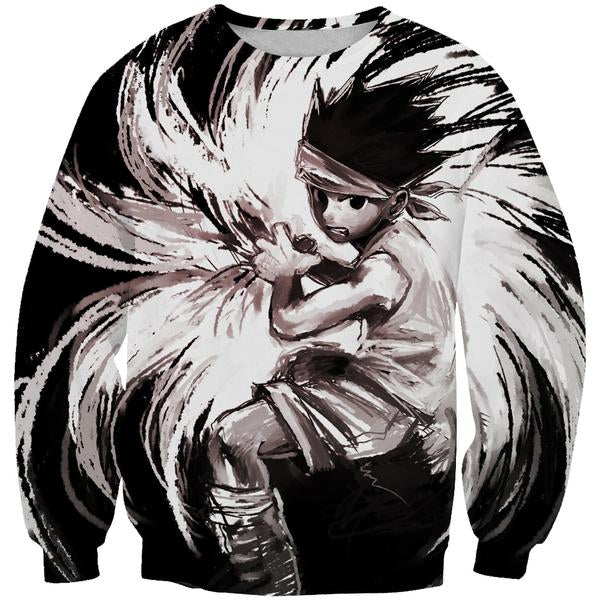 Epic Gon Sweatshirt - Rock Gon Hunter x Hunter Clothing