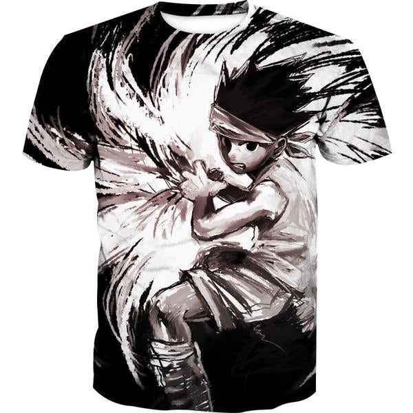 Epic Gon T-Shirt - Rock Gon Hunter x Hunter Clothing