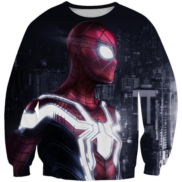 Epic Spiderman Sweatshirt - Hero Themed Clothing